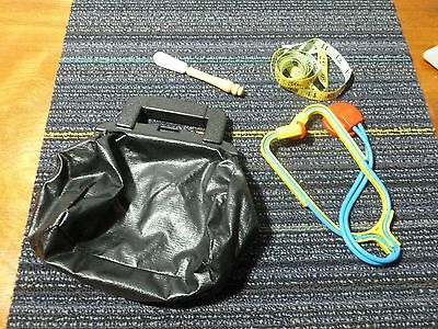 Vintage Fisher-Price Medical Doctor Bag Kit Used Collectible parts or repair