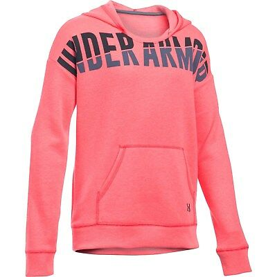 Under Armour pink favorite fleece hoodie sweatshirt NWT UPICK S M L XL girls'