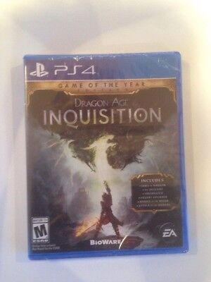 Dragon Age Inquisition GOTY Game of the Year Edition PS4 Playstation 4 Brand NEW