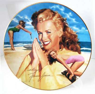 """""""Remembering Norma Jeane"""" Marilyn Monroe """"HER DAY IN THE SUN"""" Hamilton Plate"""