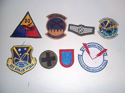 Wwi Wwii Korean War Vietnam Us Army Patch Lot #124