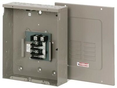 Load Center 125 Amp Main Lug 16-Circuit 8-Space Copper Buss Sub Panel