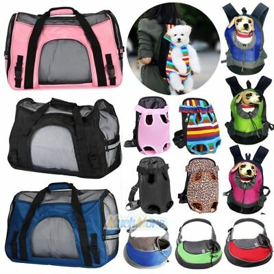 Pet Carrier Soft Sided Large Cat/Dog Comfort Travel Bag Oxford Airline Approved