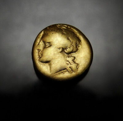 Sicily. Syracuse. Agathocles 1/4 Gold Stater. Scarce Ancient Greek Carthage coin