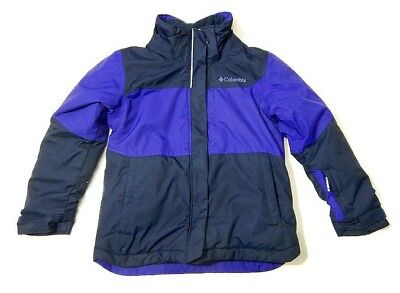Columbia Kids Winter Jacket Coat Youth Small 6 Blue Unisex Boys Girls