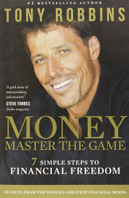 NEW Money: Master the Game By Tony Robbins Paperback Free Shipping