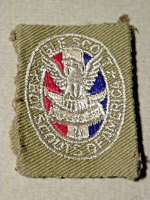49854. Vintage 1935-40 BSA Boy Scouts of America Eagle Scout Patch Ted Boutilier