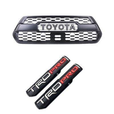 Toyota Tacoma 2017 TRD PRO Grille Base Insert Genuine OEM OE