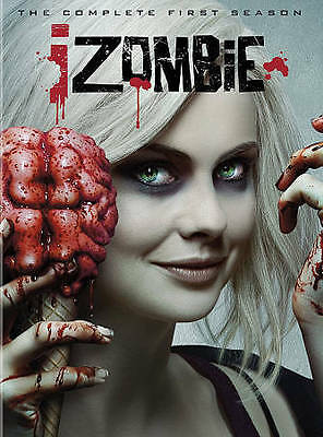 iZombie: The Complete First Season 1 (DVD, 2015, 3-Disc Set)
