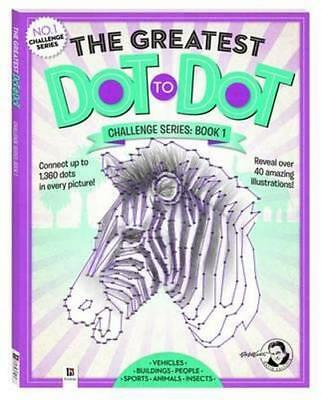 NEW The Greatest Dot-to-Dot  By David Kalvitis Paperback Free Shipping