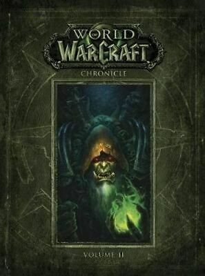 NEW World Of Warcraft Chronicle By Blizzard Entertainment Hardcover