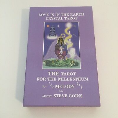 TAROT CARDS Love Is In The Earth Crystal Tarot By Melody & Artist Steve Goins