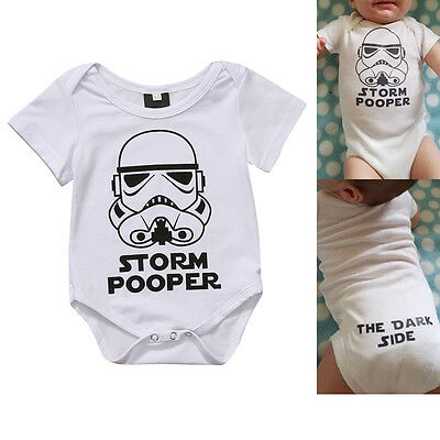 Infant Baby Girl Boy Clothes Star Wars Romper Bodysit Jumpsuit Outfit Clothes
