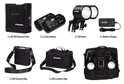 Profoto B2 Location Kit (2 heads) and extras!