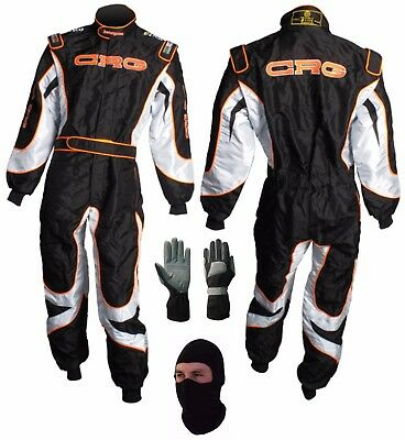 Go Kart Race Suit CRG Logo with Free Gifts