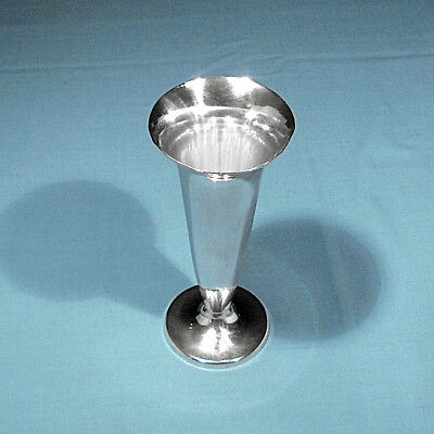 Tiffany & Co Makers Sterling Trumpet Vase #23352 ~ No Mono