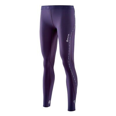 Skins DNAmic Thermal Womens Long Tights - Purple - Large