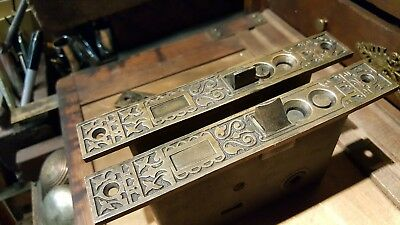 Antique Eastlake Mortise Lock - Helena Montana - Hotel Broadwater Plunge