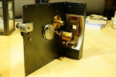 Akeley movie camera movement in custom camera frame. Silent movie Ackely
