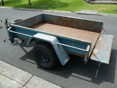 Trailer 6 x 4, includes spare wheel & jockey wheel