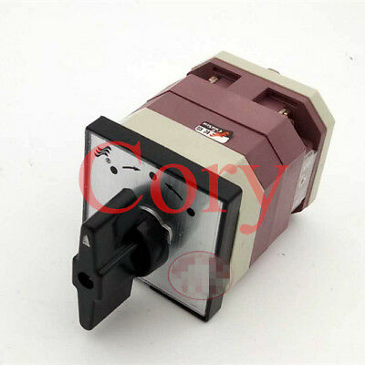 1PCS Universal Changeover Switch Automatic Reset 4 Screw Terminals 4.8 x 4.8 cm