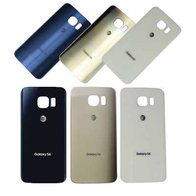 For Samsung Galaxy S6 Edge Plus AT&T Rear Battery Cover Housing Back Glass Case