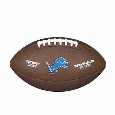 F1748 Official Size Football Detroit Lions