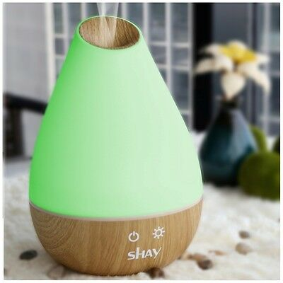 Shay Ultrasonic Aroma Diffuser and Humidifier with Colour Changing LED light