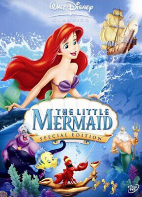The Little Mermaid (Disney) DVD (2006) John Musker