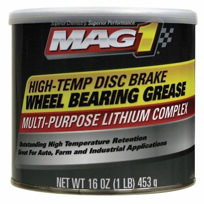 Mag 1 Red Wheel Bearing Grease, 1 lb., NLGI Grade: 2   MG620012