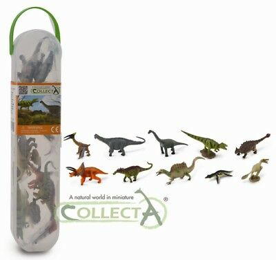 CollectA Mini Dinosaurs box 2 (10 mini dinosaurs) #A1102 - BNWT