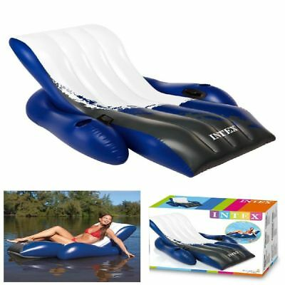 Intex 58868ep Floating Inflatable Recliner Raft Swimming