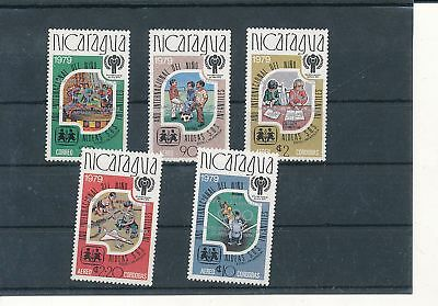37538/ Olympia 1980 ** MNH Nicaragua silber Aufdruck