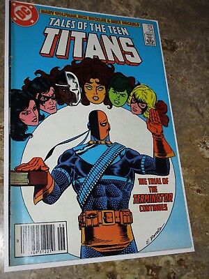 Tales Of The Teen Titans #54-1985  DC Comics New Teen Titans Deathstroke