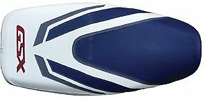Bagster Seat Cover Baltic Blue/White/Steel Grey Suzuki GSX1400 2002-2007