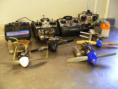 Model Areoplane 4 Engines And 4 Remote Controls