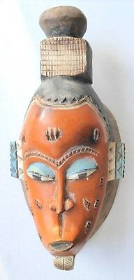 ~ AFRICAN MASK ~ Vintage / Antique ~ Wooden ~ Beautiful!