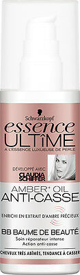 Schwarzkopf Essence Ultime Amber+ Oil Anti-Casse Bb Baume De Beaute 100 Ml