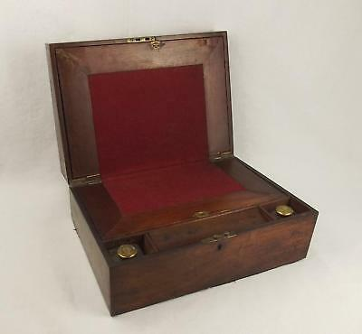 Late Victorian Walnut Writing Slope