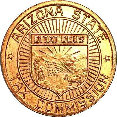 1 Mil Arizona Tax Token from the 1930's Uncirculated (inv# 12311) Free Shipping