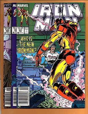 Iron Man #231 232 & 233 Armor Wars Ant Man VF+ to VF/NM