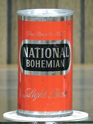 1963 Zip Tab National Bohemian Beer Baltimore Md. W/ Va. Tax Stamp Can # 96 - 26