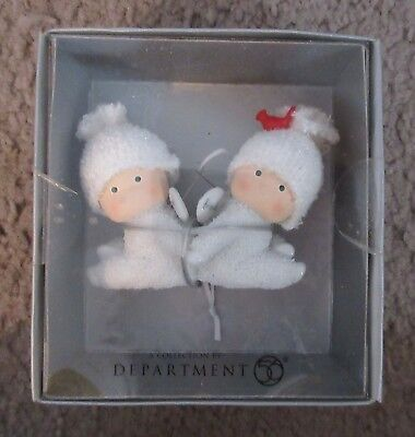 Department 56 Angel Gifts Best Friends Ornament New in Box
