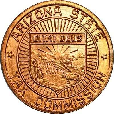 1 Mil Arizona Tax Token from the 1930's Uncirculated (inv# 12317) Free Shipping