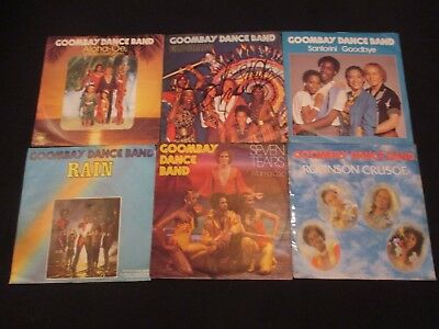 Single-Sammlung - Goombay Dance Band - 6 Singles