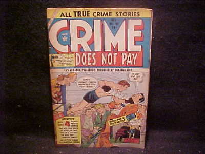 Crime Does Not Pay, pre-code no.140, 1954, FREE SHIP