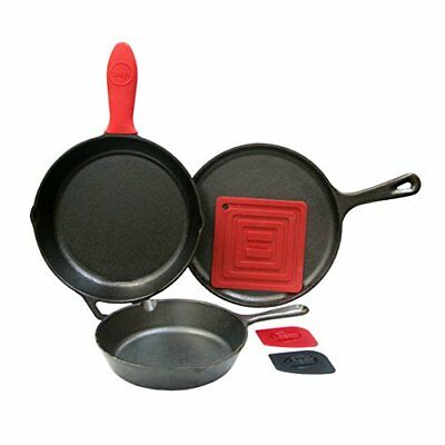 Lodge Logic Essential Skillet Set, Cookware and Accessories(Skillet Set)