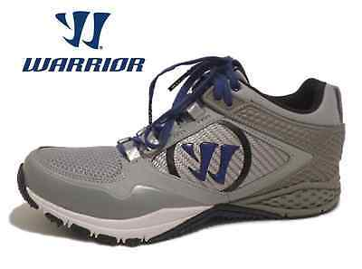 Men's Warrior by New Balance SiegeGB Gray Lacrosse Turf Shoes: Size 7 M