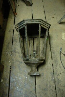 Antique Cast Iron Industrial Lamp Post Street Light Lamp # 30 of 40