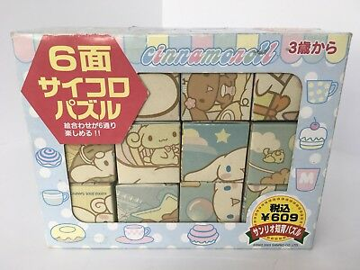Cinnamoroll Cute Paper Cube Puzzle Sanrio Japan Hello Kitty